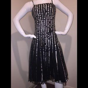 Aspeed Black & White dress XL